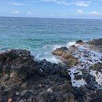 Este rompeolas es desde Playa Red Frog, Isla Bastimentos y es simplemente hermoso!