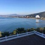 Aussicht über Bucht
