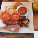 Cooked breakfast for Non vege's - Hubby's 1st cooked breakfast