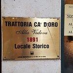 Bild från Cà D'Oro alla Vedova