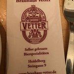 Foto de Vetter's Alt Heidelberger Brauhaus