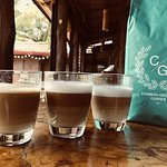 Real Espresso Coffee! We import our coffee beans from Common Ground Coffee Roasters in Melbourne, Australia, arguably the coffee capital of the world.