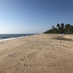 Alleppey beach is perfect for a long walk...