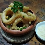 Onion Rings From our 'Bites' menu - great to enjoy with a drink, after a mid-afternoon swim, or before dinner.