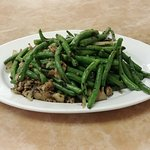 String Beans with Minced Pork and Olives