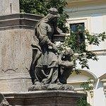 чумной столб на Градчанской площади