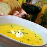 Dýňová polévka z nového menu restaurace Luka Lu