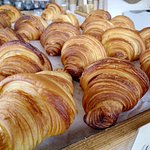 Freshly baked croissants! Every day, just delicious!