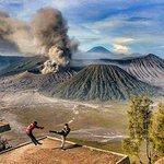 Bild från Gunung Penanjakan