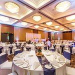 Attention to detail The Ballroom set classroom style