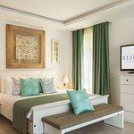 Master Bedroom Bdr Forest Villa bed with tv on