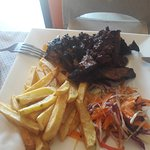 LangiLangi Beach Bungalows Cafe Foto