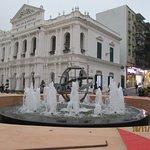 fountain at Senado Square