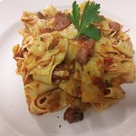 Pappardelle with Sausage...