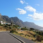 Camps Bay with the 12 Apostles.