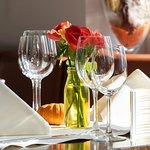 Restaurant Scharfes Eck - Gedeckter Tisch