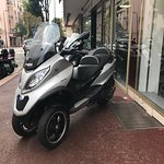 Piaggio 500 MP3 Sport avec le permis B (voiture). You can ride it with your car driving license !!