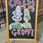 Cheese Gromit