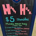Come get your belly filled with some of our DELICIOUS $5 happy hour menu items. (Mon-Fri 3pm-7pm)