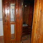 Sauna, sehr schlechter Zustand!