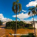 Vista desde el circuito inferior del Parque Nacional Iguazú