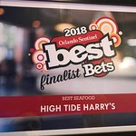 Voted Best Seafood in Orlando