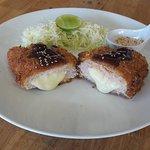 tonkatsu cheese