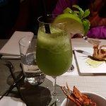 青菜做成的飲料 很清爽
