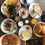 Café Milchmädchen Foto