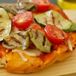Vegeterian Pizzetta