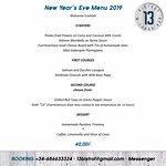 New Year's Eve Menu 2019!