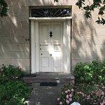 Oak Lodge front door
