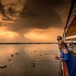 Onboard the RV Mekong Pandaw on the Mekong River Cambodia