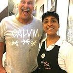 A visita de Márcio Canuto, da TV Globo ❤️ BELLISSIMO cafés® ...a sua loja de café em Vilamoura