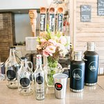 Select from these refillable bottles, or bring your own!