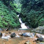 Waterfall at Miravalles Volcano