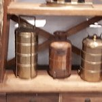 OLD-FASHIONED TIFFIN CARRIERS