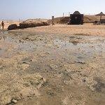 Stav plaze fakt zoufalý a more nikde...