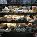 Big gourmet cheese selection