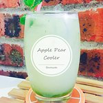 Apple Pear Cooler. Special creation from Bareesta Coffee House.