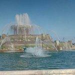 白金漢噴泉照片