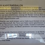 information boards in four languages, also German