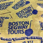 """Looking for great#gift#card#dealsthis#holidayseason? GET 25% OFF w/code """"giftcard18"""" at#Boston#Segway#Tours🎄www.bostonsegwaytoursinc.com/gift"""
