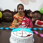 Birthday to my daughter