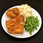 Sunday Special - 3 pc Fried Chicken w/2 sides