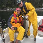 We make fantastic memories with our Father/Son Fishing trips.