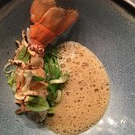 Langoustine with red curry
