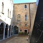 Il cortile interno - museo del vetro Murano