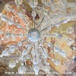 Un lampadario stupendo al museo del vetro Murano