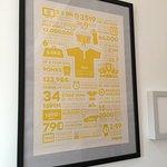 The Owl's nest lounge - Tour de France poster
